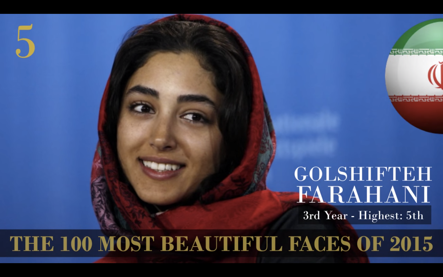 the 100 most beautiful faces of 2015-5 farahani