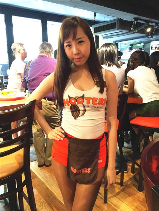hooters girls hk6