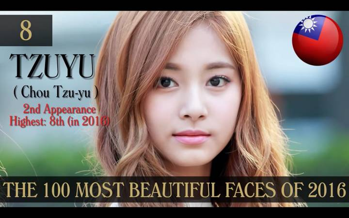 most100-beautiful-tzuyu